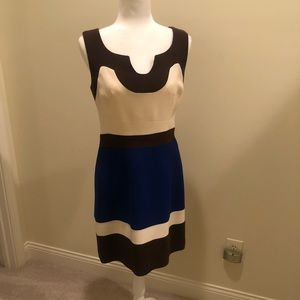 Milly bold color block dress